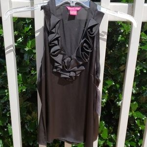 Sunny Leigh Halter Top Blk M NWT Imperial Flower